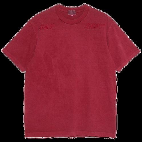 CAV EMPT OVERDYE BOLD T (RED)