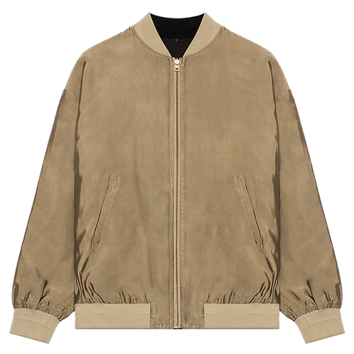 JOHN ELLIOTT PISCES REVERSIBLE  JELLYFISH SILK JACKET GOLD