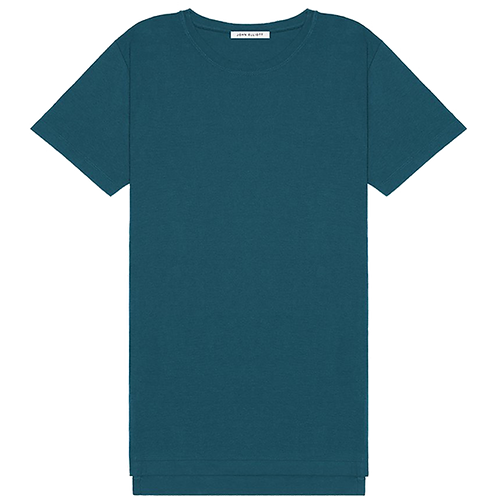 JOHN ELLIOTT MERCER COTTON T-SHIRT TEAL