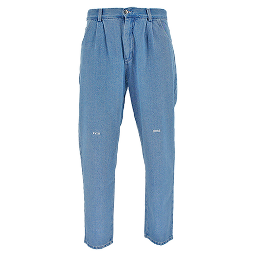 PYER MOSS PLEATED JEAN WASHED