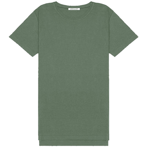 JOHN ELLIOTT MERCER COTTON T-SHIRT OLIVE