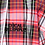 Thumbnail: JUUN. J DECAL PLAID HOODED OVERSHIRT