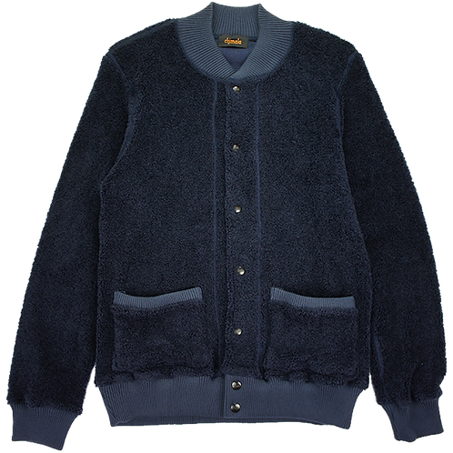 CHIMALA FRENCH TERRY JACKET NAVY