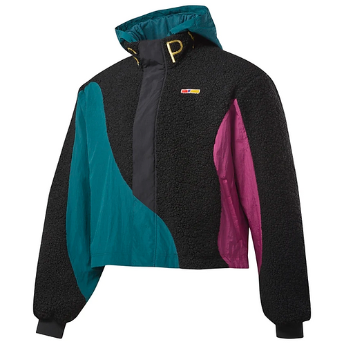 REEBOK by PYER MOSS WINDBREAKER BLACK