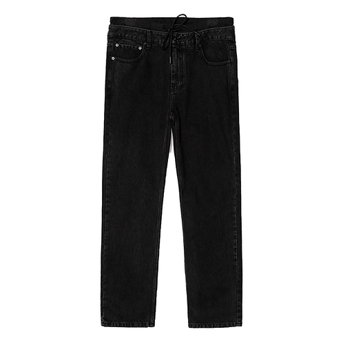 JUUN. J WASHED LAYERED JEANS
