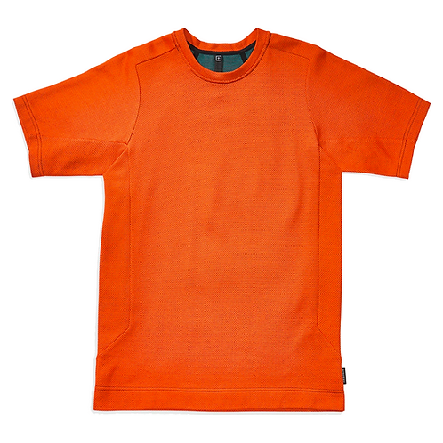 BYBORRE SHORT SLEEVE T-SHIRT ORANGE
