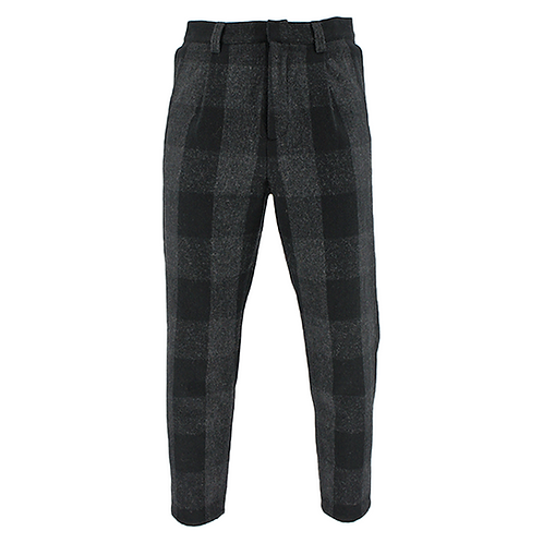GUSTAV VON ASHCHENBACH THE CHECK PANTS (BLACK)