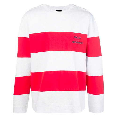 JUUN. J RUGBY STRIPED LONG SLEEVE SHIRT