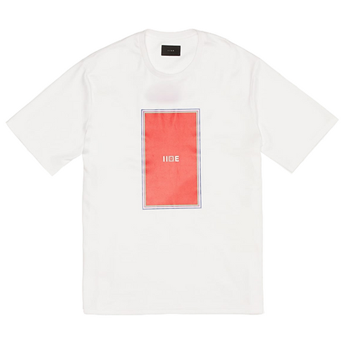 IISE COLOR TEE – WHITE