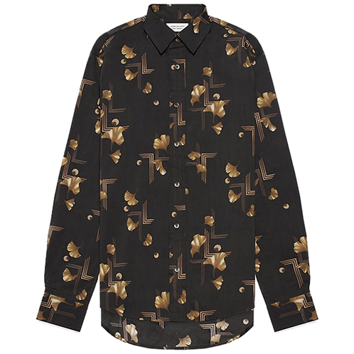 JOHN ELLIOTT DEPARTURE BUTTON UP ART DECO