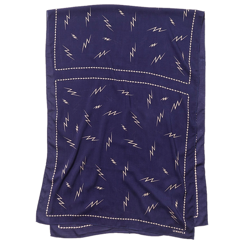MAPLE BIG BOLTS SCARF (NAVY)
