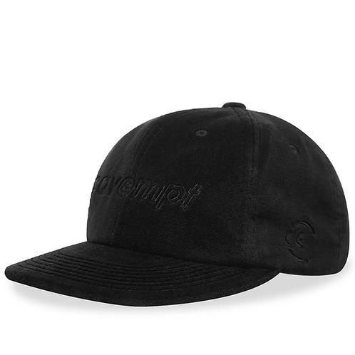 CAV EMPT VELVET LOW CAP BLACK