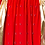 Thumbnail: KOLOR BANDANA PRINT PANELED SKIRT (RED/GOLD)