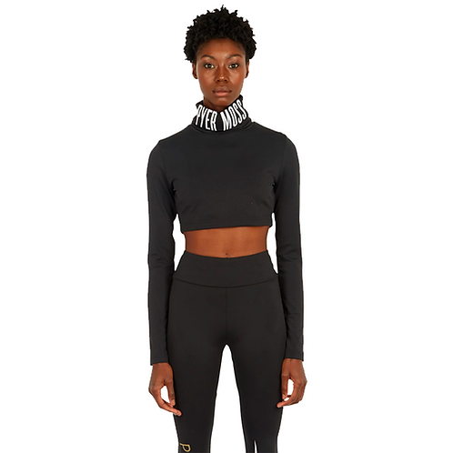 REEBOK by PYER MOSS WOM TURTLE NECK BLACK