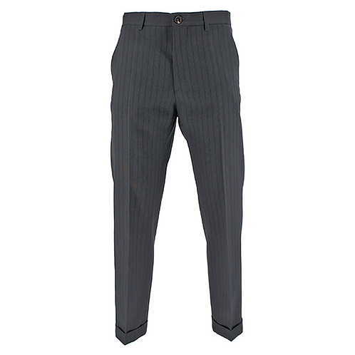 MARNI STRIPED TROUSER (NAVY)