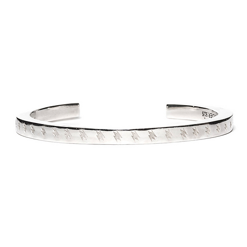 MAPLE LIGHTING BANGLE SILVER 925