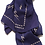 Thumbnail: MAPLE BIG BOLTS SCARF (NAVY)