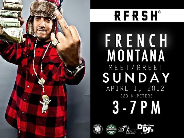 REAGRDING FRESH | RE:FRESH | NEW ORLEANS | FRENCH MONTANA |