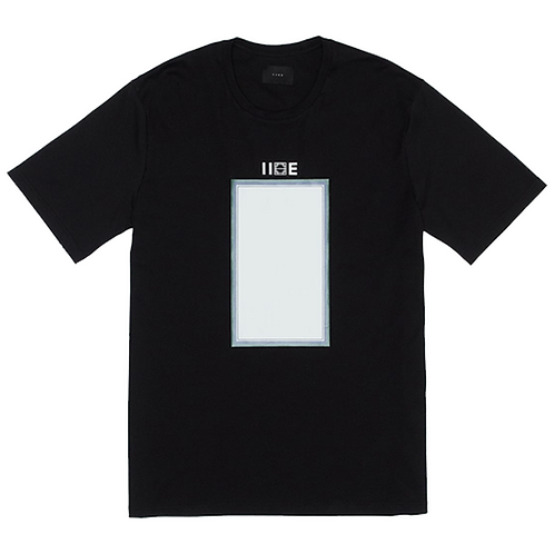 IISE COLOR TEE – BLACK
