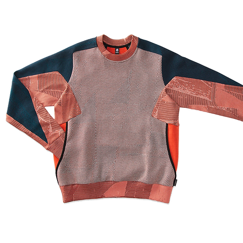 BYBORRE WEIGHTMAP SWEATER MERINO MULTI