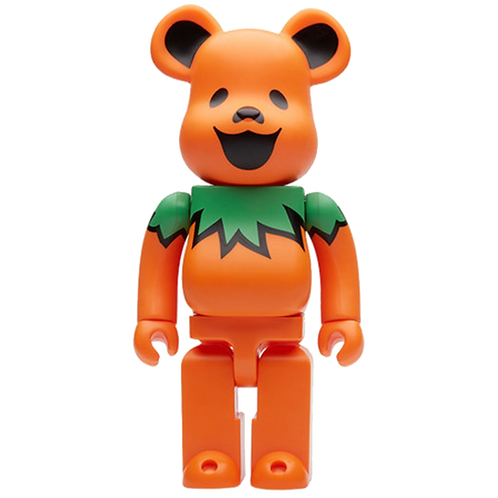 MEDICOM TOY GRATEFUL DEAD BEARBRICK 400% / ORANGE
