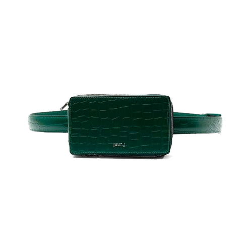 JUUN. J SQUARE MINI FANNY PACK GREEN
