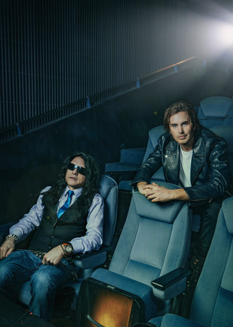 Tommy Wiseau and Greg Sestero of THE ROOM. Photographed for the American Cinematheque.
