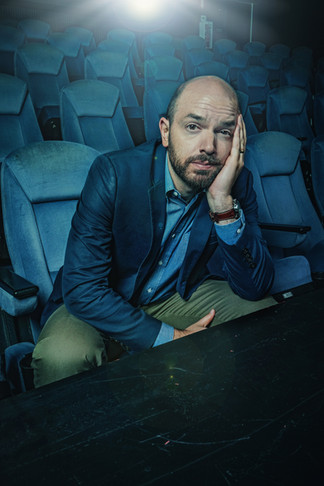 Actor Paul Scheer, best known for his work in THE LEAGUE and VEEP. Photographed for the American Cinematheque.