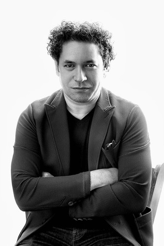 Gustavo Dudamel, Los Angeles Philharmonic Music Director ar superstar conductor.