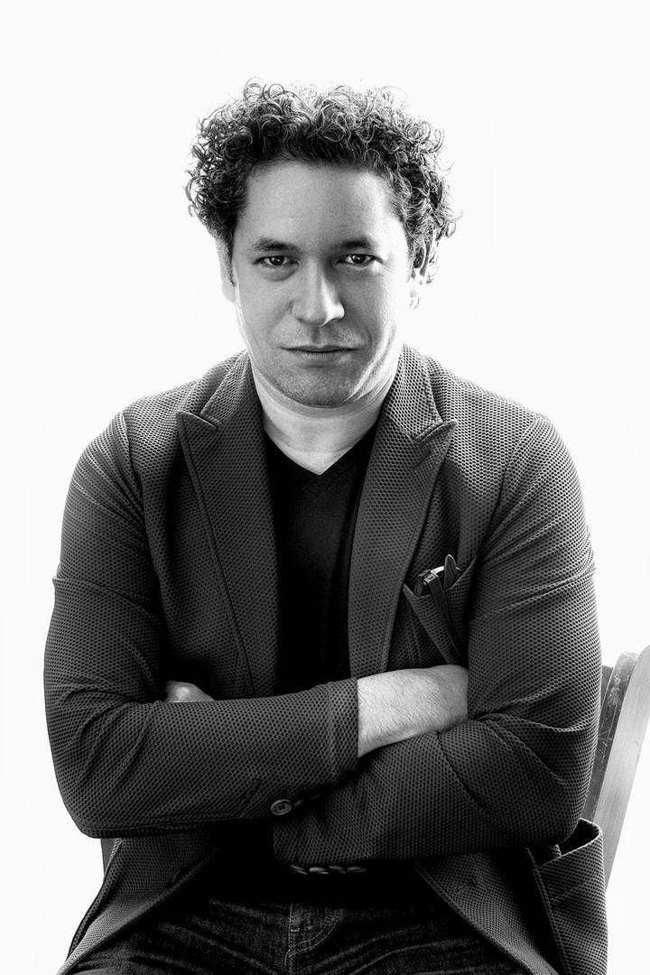 Gustavo Dudamel, Los Angeles Philharmonic Music Director ar superstar conductor.