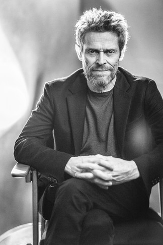 Willem Dafoe, three time Academy Award nominee for Best Supporting Actor. Photographed for the American Cinematheque.