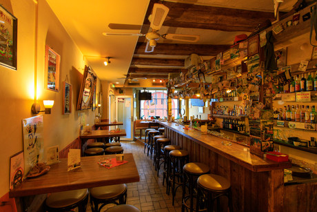 Blick in die Bar