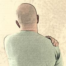 плече
