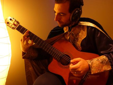 Playing my guitar.JPG