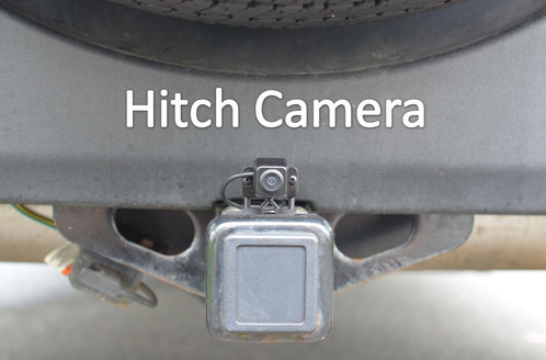 AutoI 1001X Universal Rearview Trailer Hitch Camera