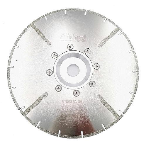 Гальванический отрезной диск по камню 230 мм М14