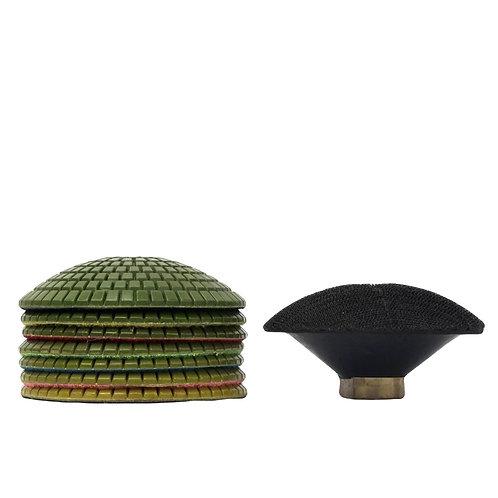 Диски полировальные эластичные Ø 100 мм для мрамора и гранита