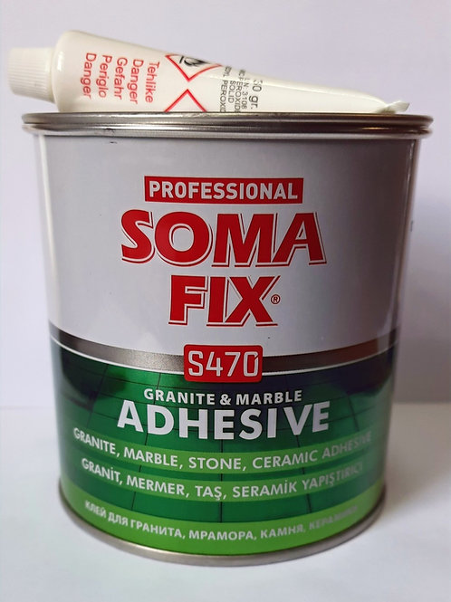 SOMAFIX S470 Клей для гранита и мрамора (бежевый)