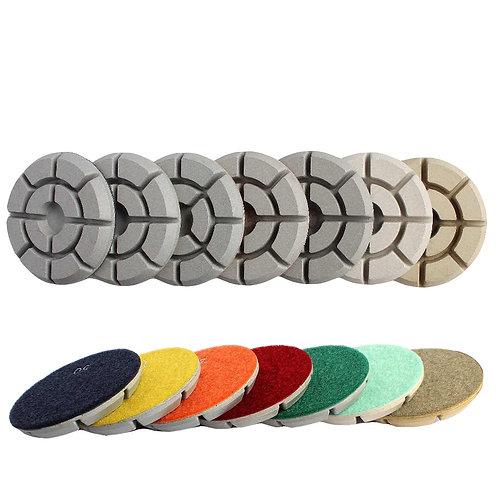 Гибкие шлифовальные диски толщина  1 см (круг) (комп.)