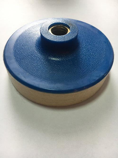 Диск войлочный, жесткий, Ø 100 толщина 20 мм