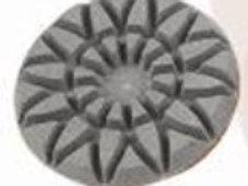Гибкие шлифовальные диски толщина  1 см (звезды)