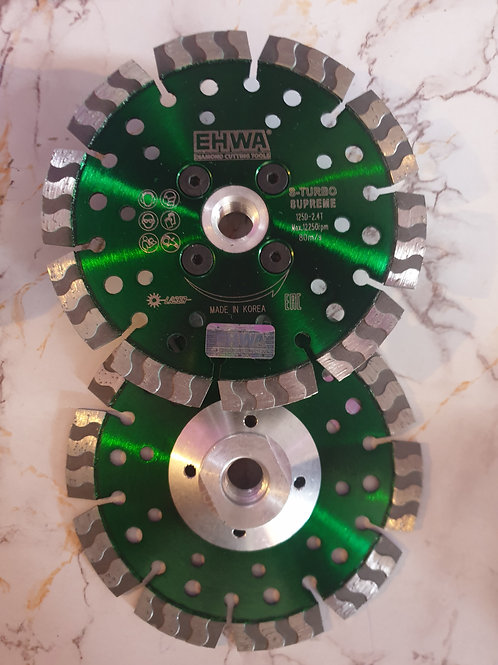 Круг алмазный S-TURBO 125 с фланцем М14