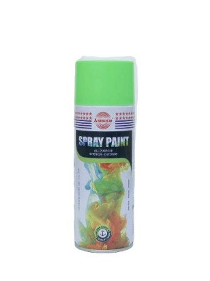 Аэрозольная Акриловая Краска (Flo Green) Флуоресцентный Зеленый 400 мл