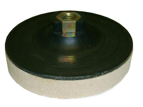 Диск войлочный, жесткий, Ø 125 толщина 20 мм