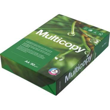 Papper Multicopy A4 80g 500/pk