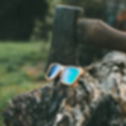 Medicine Werx sunglasses are handcrafted from sustainably sourced wood.
