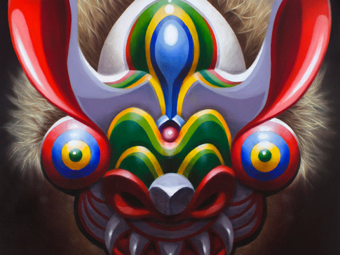 On The Road 8: Bolivian adventures and a Diablada Mask