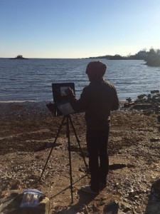 On The Road 11: New England Plein Air