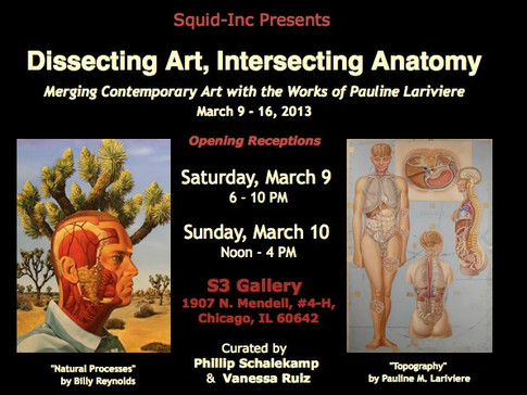 Dissecting Art, Intersecting Anatomy