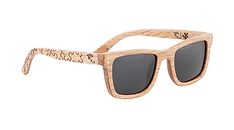 Puzzle Artifact Wood Sunglasses Oak